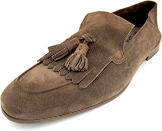 Arizona Mens Brown Suede Loafers Made in Italy (11 E US)
