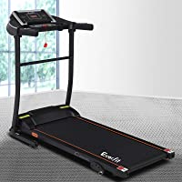 Everfit Home Treadmill 2HP Compact Folding Running Machine 3-Level Manual Incline LED Display Cardio Workout Gym Fitness...