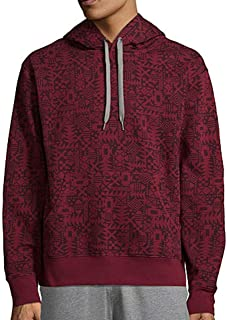 Desire Red Long Sleeve Fleece Hoodie Medium