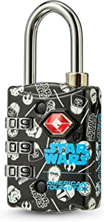 American Tourister TSA 3 Dial Combination Lock, Star Wars Iconic, One Size