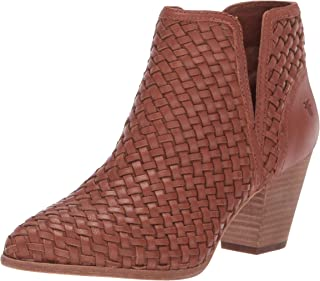 FRYE Womens 78484 Reed Cut Out Woven Bootie
