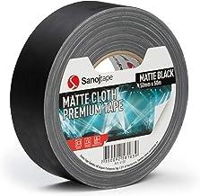 Sanojtape Professionele Matte Gaffer Tape Zwart 50mm x 50m Geluid & Licht Duct Gaffer Tape