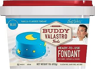 Buddy Valastro Foods Blue Fondant (Vanilla, 1 Pound)