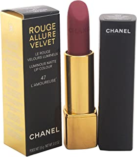 Chanel Rouge Allure Velvet Luminous Matte Lipstick, 47 L´Amoureuse, 3.5g