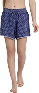 Enamor Women's Cotton Shorts