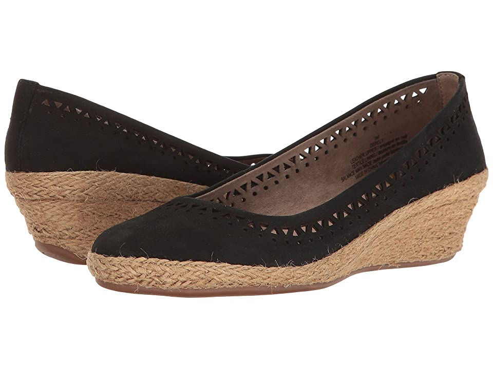 Easy Spirit Derely (Black Nubuck) Women