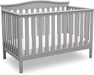 Delta Children Independence 4-in-1 Convertible Baby Crib, Grey
