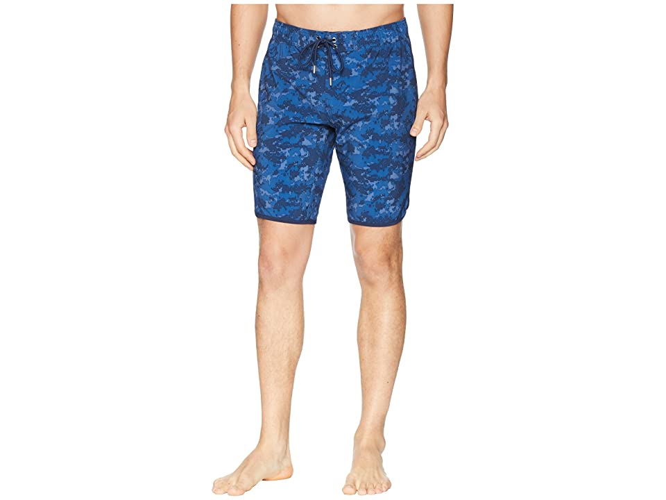 2(X)IST Jogger Slim Boardshorts (Digi Camo/Dress Blue) Men