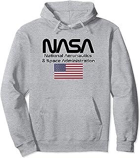 logo NASA Felpa con Cappuccio