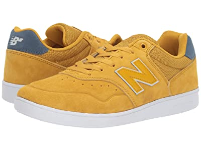 New Balance Numeric NM288 (Yellow/Navy) Skate Shoes