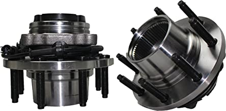 Fine Threads 4x4 (Both) Front Wheel Hub and Bearing Assembly FORD F250/350 Super Duty 4x4 8 Lug,SRW W/ABS Fine Threads, FROM 3/22/99 (Pair) 515056 x2