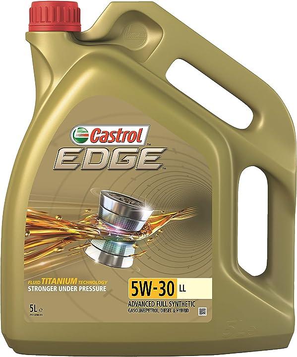 Olio motore castrol edge 5w-30 ll titanium fst lubrificante 5 litri 15669F