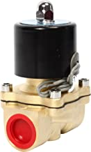 SNS 2W200-20/DC24V 3/4 NPT Brass Electric Solenoid Valve Normally Closed Water, Air, Diesel