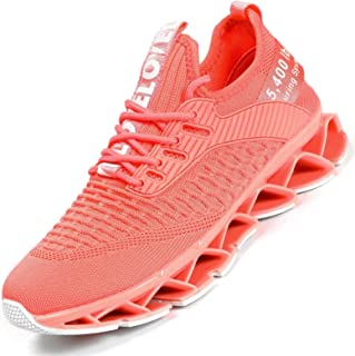Women's shoes, running shoes, breathable, non-slip fashion trainers, walking tennis trainers, sports shoes, leisure traine...