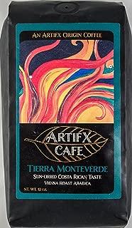 Artifx Cafe Tierra Monteverde Costa Rica Coffee - 12 oz, Ground - Nature Friendly - Vienna Roast