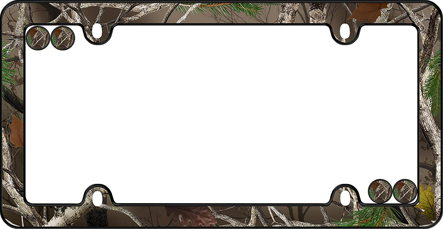 Branded Max 68% OFF goods Cruiser Accessories 23095 Camo License Plate Black Frame w Fast