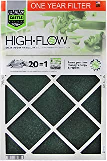 """No Toil Castle, One-Year HVAC Furnace Filter, 16"""" x 25"""" x 1"""""""
