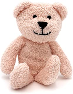 Thermal-Aid Zoo — Mini Bella The Pink Bear — Kids Hot and Cold Pain Relief Boo Boo Tool — Heating Pad Microwavable Stuffed...