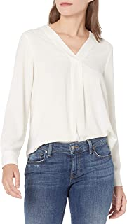 Amazon Brand - Lark & Ro Women's Long Sleeve V-Neck Pull...