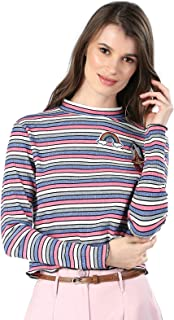 ICONIC Round Neck Pullover Top For Women