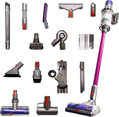 Dyson Cyclone V10 Animal Pro with 15 Tools Including Torque Drive Cleaner Head, Mini Motorized Tool, Clean Everywhere Kit (RENEWED)