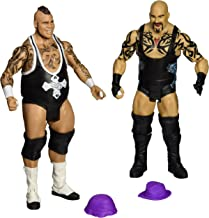 WWE Battle Pack: Tensai vs. Brodus Clay with 2 Hats Action Figure (2-Pack)