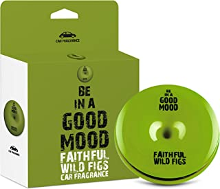 Be in a Good Mood Car Fragrances | Essential Oils | Car Air Freshener with Easy-to-Use Air Vent Diffuser | Boost Your Mood & Eliminate Unpleasant Odors (Wild Figs)