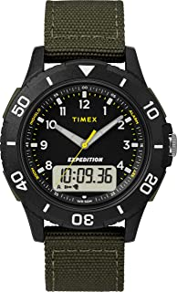 Mens Analogue-Digital Quartz Watch with Textile Strap TW4B16600