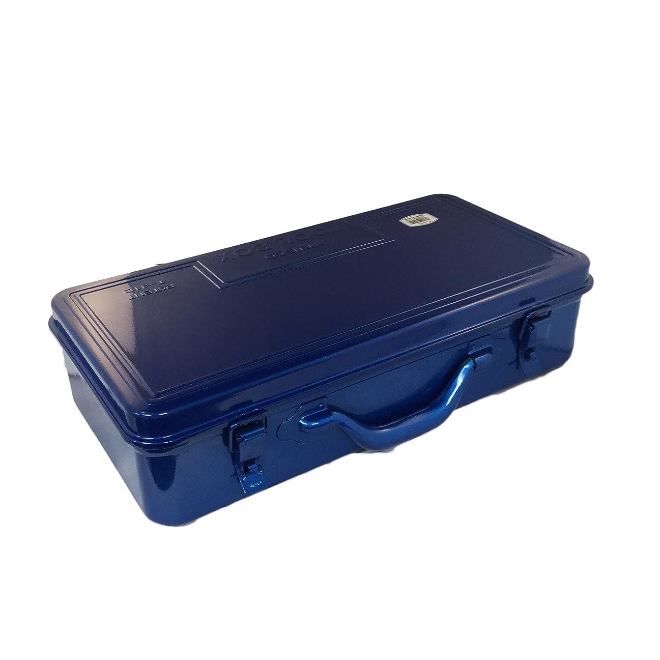 万一に備えて肉高層ビルTRUSCO(トラスコ) トランク工具箱 418X222X110 ブルー T-410