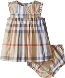 Burberry Kids - Aaluf Dress with Frill Sleeve (Infant)