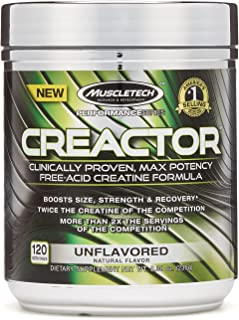 MuscleTech Creactor Creatine - Unflavored 203 g