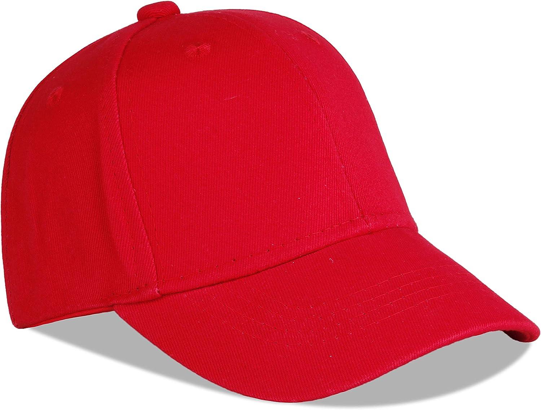 Juenier Unisex Toddler Quality inspection Kids Bargain Plain Cap Baseball Soft Light Cotton