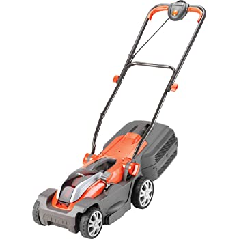 Flymo Mighti-Mo 300 Li Cordless Battery Lawn Mower, 40 V, Cutting Width 30 cm