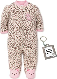 Little Me Kitty Blanket Sleeper Warm Fleece Footie Footed Pajamas Pink 18 Months