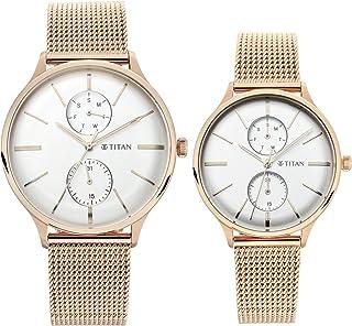 Titan Modern Bandhan Analog Silver Dial Women's Watch-9400394203WM01