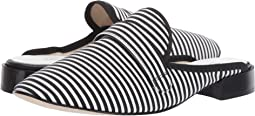 Black Cotton Stripe