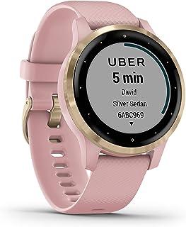 Garmin Vívoactive 4S, Smartwatch GPS de Petite Taille, Propose de la Musique, Une Surveillance de l'énergie corporelle, de...