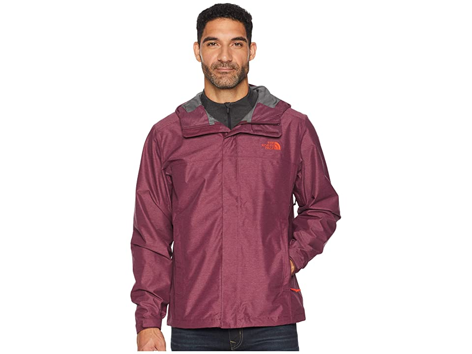 The North Face Venture 2 Jacket (Fig Heather/Fig Heather) Men