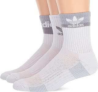 Men's Double Blocked High Quarter Socks (3-Pair)