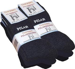 Dickies Negro Caminar Senderismo Acolchado Paquete de 6 Pares de Calcetines De Trabajo Talla 6-11