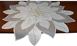 EcoSol Designs Embroidered Holiday Table Topper (33.5