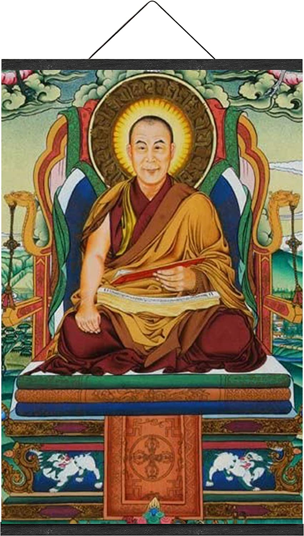 超定番 NO MARK 割引も実施中 Tibetan Thangka 14th Dalai La Lama Religous Leader