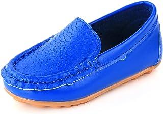 LONSOEN کودک و نوجوانان پسر بچه پسر کوچک ، کفش راحتی با کفشهای تخت می پوشند