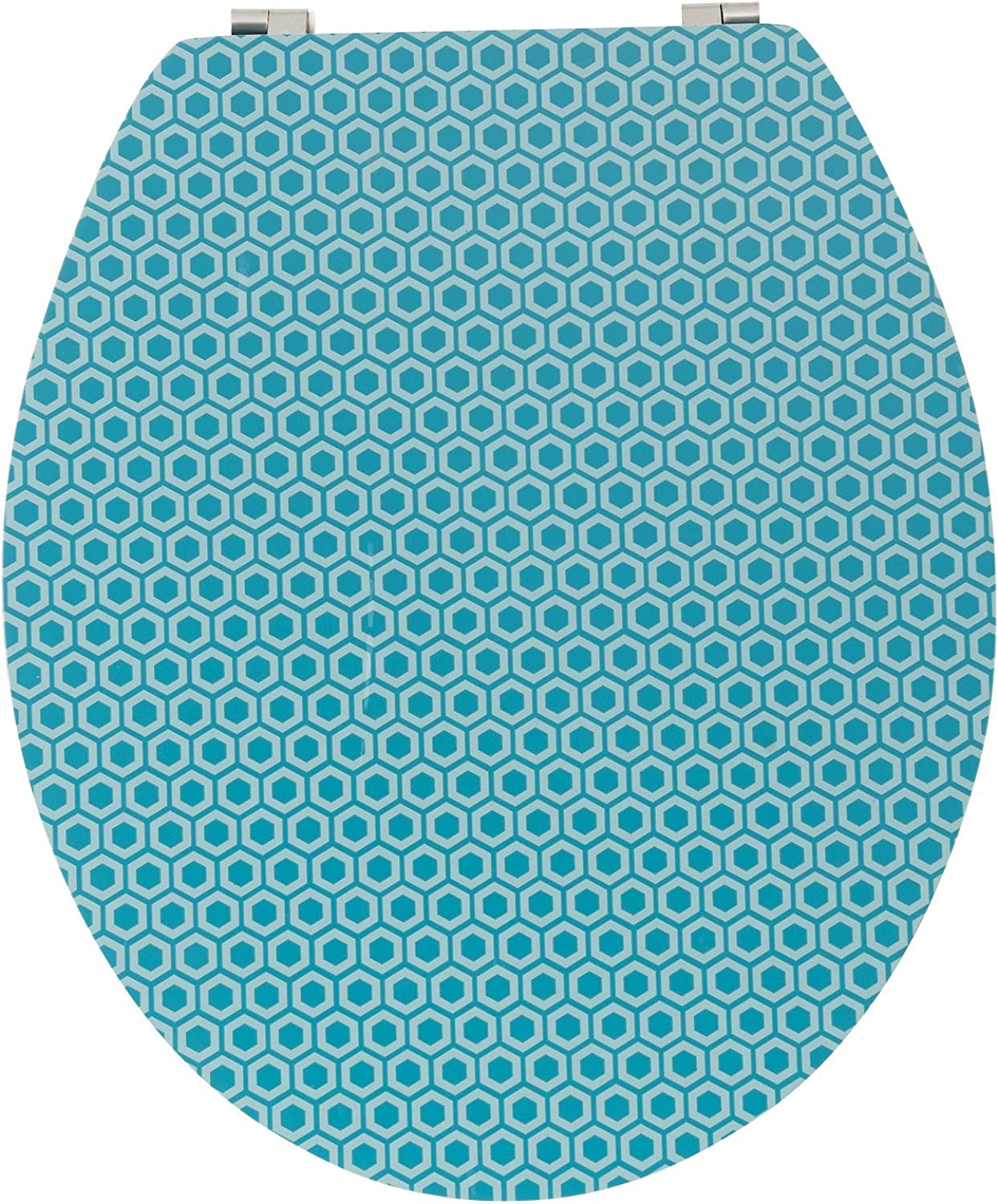 Wirquin Trendy Line 20721907 Toilet Seat Diplomat Malmo bluee and Bamboo