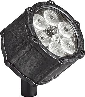 Kichler Lighting 15741BKT LED Accent Light 6-Light Low Voltage 10 Degree Spot Light, Textured Black with Clear Tempered Glass Lens