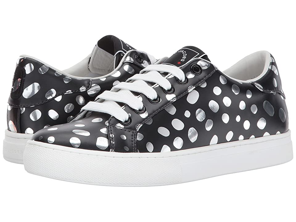 Marc Jacobs Empire Low Top Sneaker (Dark Silver Multi) Women