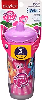 Playtex Sipsters Stage 3 My Little Pony Spill-Proof, Leak-Proof, Break-Proof Insulated Spout Sippy Cups - 9 Ounce - 1 Coun...