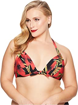 Unique Vintage - Plus Size Monroe Top