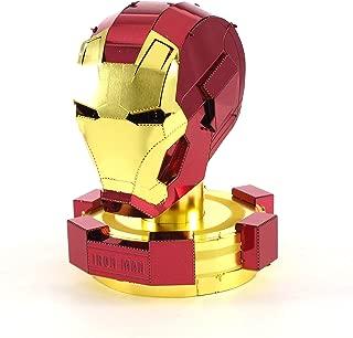 Fascinations Metal Earth Marvel Iron Man Helmet 3D Metal Model Kit
