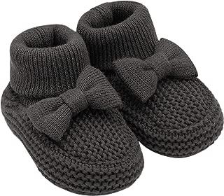 Baby Soft Sole Girl Knit Bootie-Newborn Slipper